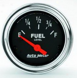 Universal Universal Auto Meter Fuel Gauge 2514