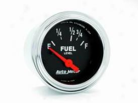 Unviersal Universal Auto Meter Fuel Gauge 2515