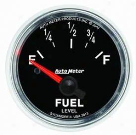 Universal Unlimited Auto Meter Fuel Gauge 3813