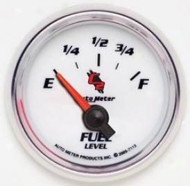 Universal Universal Auto Meter Fuel Gauge 7113