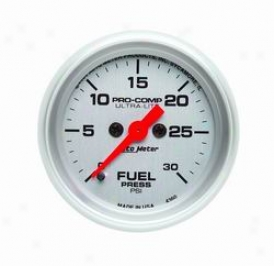 Univerdal Total Auto Meter Fuel Pressure Gauge 4360