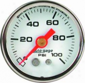 Universal Universal Auto Meter Fuel Pressure Gauge 2177