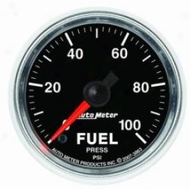 Universal Universal Auto Meter Fuel Pressure Gauge 3863