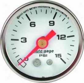 Universal Universal Auto Meter Firing Pressure Gauge 2176