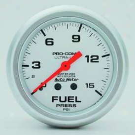 Universal Universal Auto Meter Fuel Pressure Gauge 4413