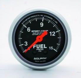 Univeras Universal Auto Meter Fuel Pressure Gauge 3311