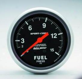 Universal Universal Auto Meter Fuel Affliction Gauge 3411