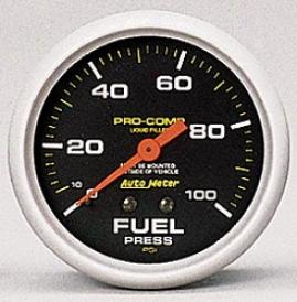 Universal Universal Auto Meter Fuel Pressure Gauge 5412