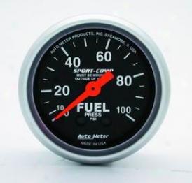 Universal Universal Auto Meter Fuel Pressure Gauge 3312