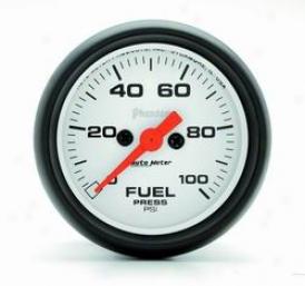 Universal Universal Auto Meter Fuel Pressure Gauge 5763