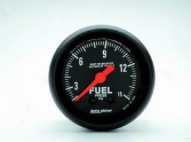 Universal Universai Auto Meter Fuel Pressure Gauge 2603