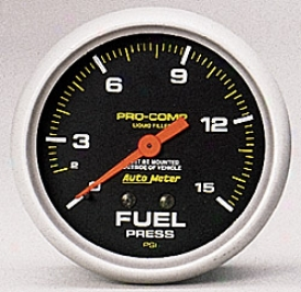 Universal Universal Auto Meter Fuel Pressure Gauge 5411