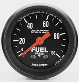 Universal Universal Auto Meter Fuel Pressure Gauge 2612