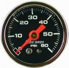Universal Universal Auto Meter Fuel Pressure Gauge 2173