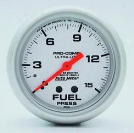 Universal Universal Auto Meter Firing Pressure Gauge 4411
