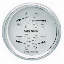 Universal Universal Auto Meter Gauge Set 1602