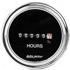 Universal Universal Auto Meter Hour Meter Gauge 2587