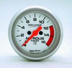 Universal Universal Auto Meter Nitrous Pressure Gauge 4374