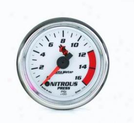 Unversal Universal Auto Meter Nitrous Pressure Gauge 7174