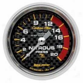 Universal Universal Auto Meter Nitrous Pressure Gauge 4728