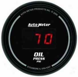 Universal Universal Auto Meter Oil Pressure Gauge 6327