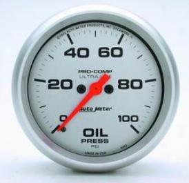 Universal Universal Auto Meter Oil Pressure Gauge 4453