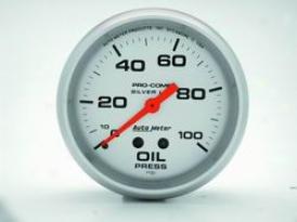 Universal Unlimited Auto Meter Oil Pressure Gauge 4621
