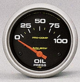 Universal Universal Auto Meter Oil Pressure Gauge 5427