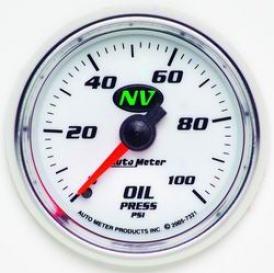 Universal Univrrsal Auto Meter Oil Pdessure Gauge 7321