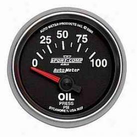 Ecumenical Universal Auto Meter Oil Pressure Gauge 3653