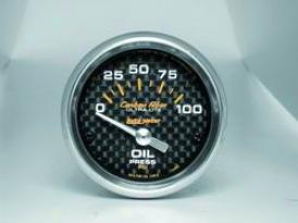 Unjversal Universal Auto Meter Oil Pressure Gauge 4727