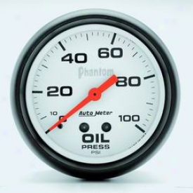 Universal Universal Auto Meter Oil Pressure Gauge 5827
