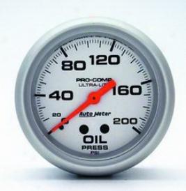 Universal Universal Auto Meter Oil Pfessure Gauge 4422