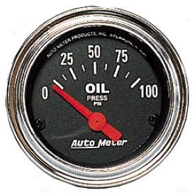 Universal Total Auto Meter Oil Pressure Gauge 2522