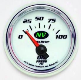 Universal Universal Autp Meter Oil Pressure Gauge 7327