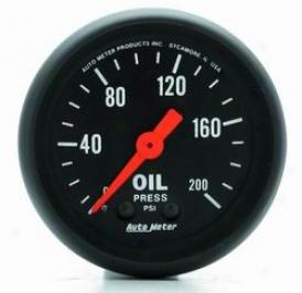 Uhiversal Universal Auto Meter Oil Pressure Gauge 2605