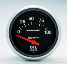 Universal Universal Auto Meter Oil Prressure Gauge 3522