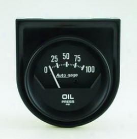 Universal Universal Auto Meter Oil Pressure Gauge 2360