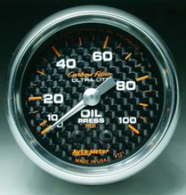 Universal Universal Auto Meter Oil Pressure Gauge 4721