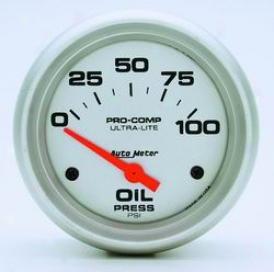 Universal Universal Auto Meter Oil Pressure Gauge 4427