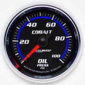 Universal Universal Auto Meter Oil Pressure Gauge 6121