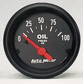 Universal Universal Auto Meter Oil Pressure Gauge 2634