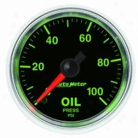 Unlimited Univerxal Auto Meter Oil Pressure Gauge 3821