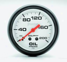 Universal Universal Auto Meter Oil Pressure Measure  5822