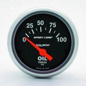 Universal Universal Auyo Meter Oil Pressure Gauge 3327