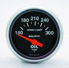 Universal Total Auto Meter Oil Temperature Gauge 3348