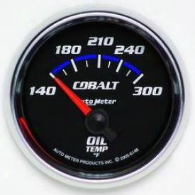 Universal Universal Auto Meter Oil Temperature Gauge 6148