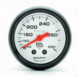 Universal Universal Auto Meter Oil Temperature Gauge 5741