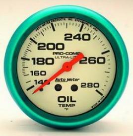 Universal Universal Auto Meter Oil Temperature Gauge 4541