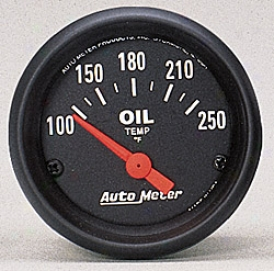 Universal Universal Auto Meter Oil Temperature Gauge 2638